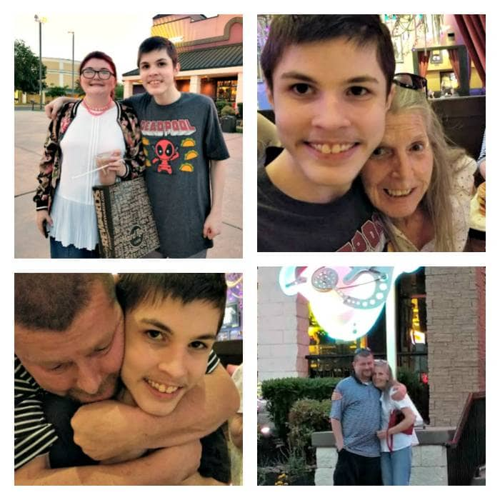 Hard Rock Cafe Pigeon Forge family