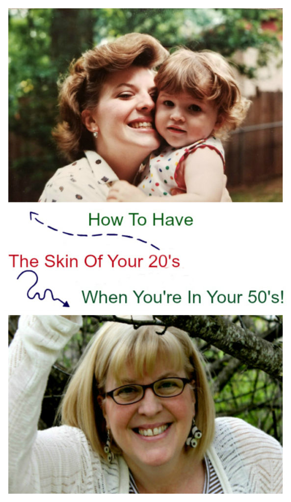 How To Have The Skin of Your 20's In Your 50's pin