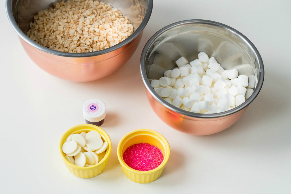 Pink Cereal Treats Ingredients