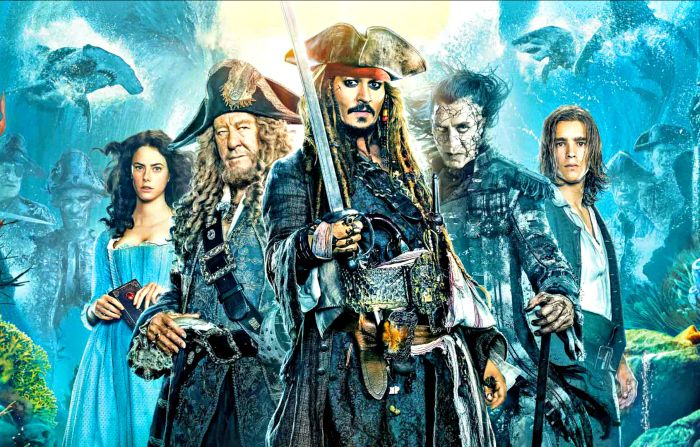 Pirates of the Caribbean Dead Men Tell No Tales Sails Into Homes Today!