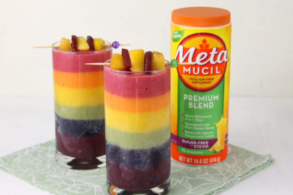Greek Yogurt Rainbow Smoothie Recipe 2