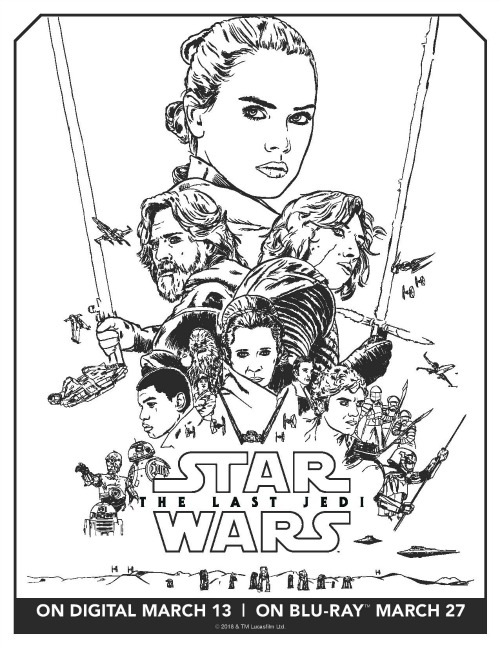 Star Wars: The Last Jedi activity page3