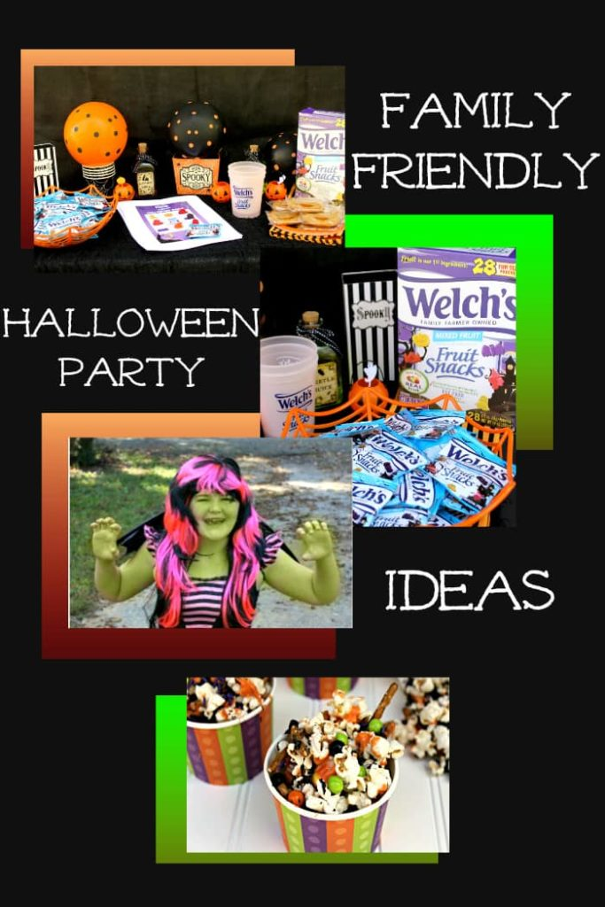 Throwing a successful Halloween party everyone will enjoy can be tricky. Here are a few Simple Ways To Have A Family Friendly Halloween Party where everyone will have a blast! #ad @welchsfruitsnck