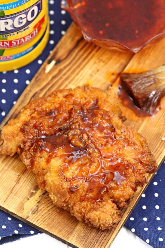 The Crispiest Nashville Style Fried Chicken Sandwich Recipe 8