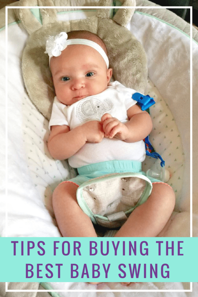 We all had a piece of baby gear we swore by. For us it was a swing. If you are in the market, here is what to look for when buying a baby swing for yourself or a #baby #shower #gift #ad @gracobaby