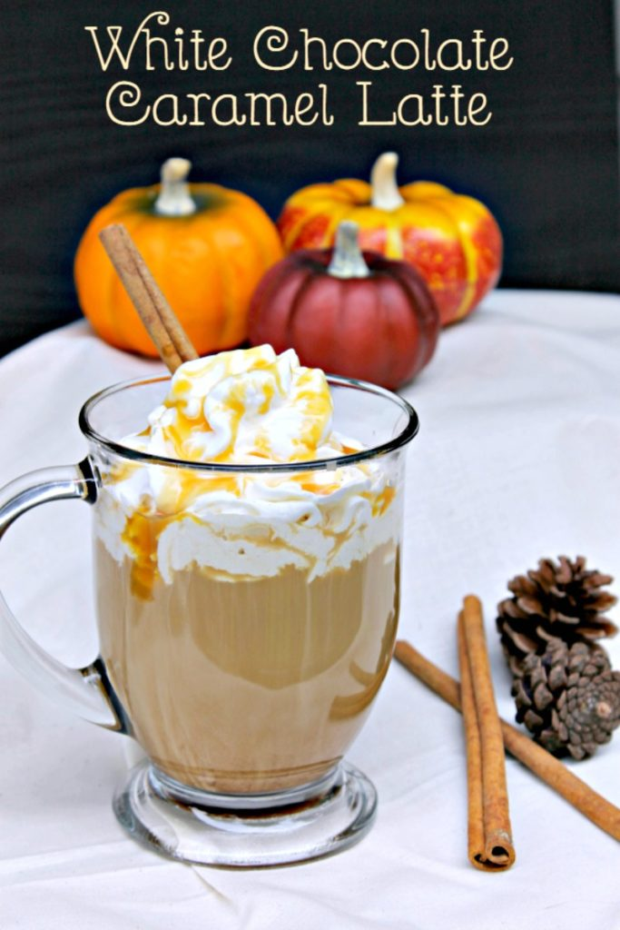 Where are my coffee lovers? If you like a good cafe coffee but hate the price, you can make my White Chocolate Caramel Latte recipe for $1!