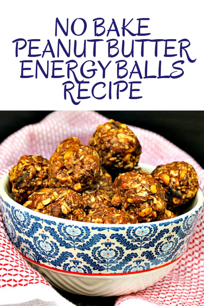 Diabetic Friendly No Bake Peanut Butter Energy Balls Recipe