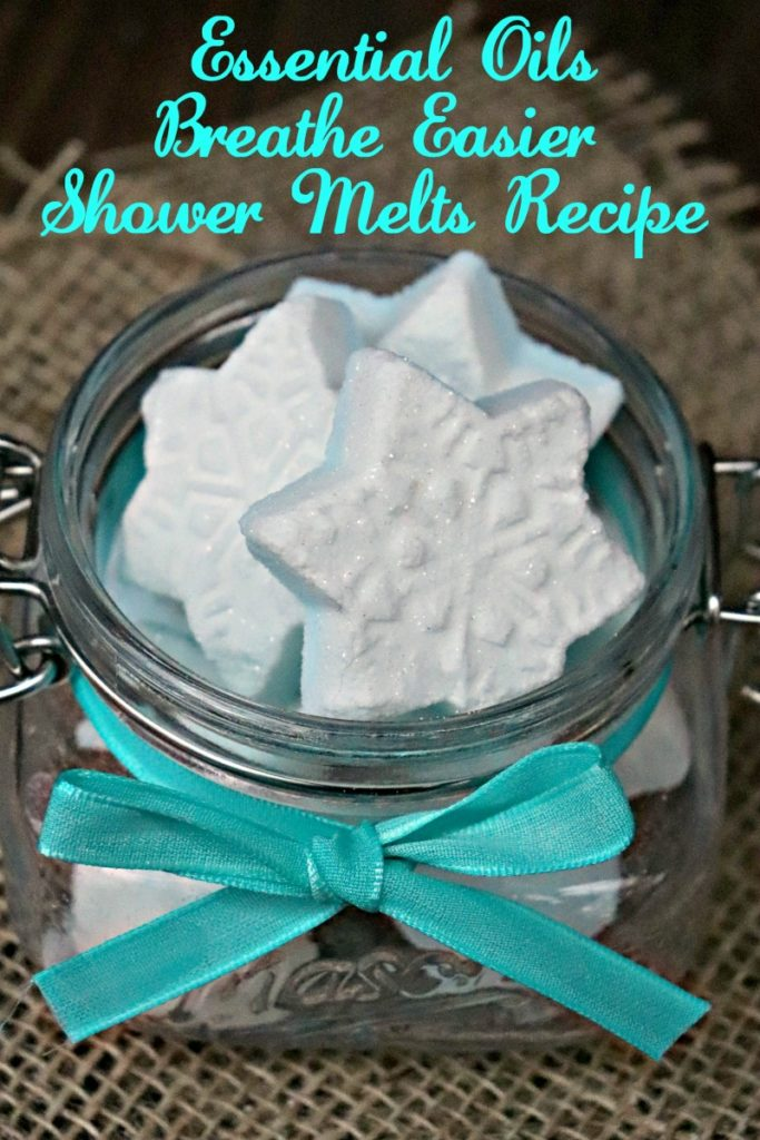 My Essential Oils Breathe Easier Shower Melts are great for opening up those nasal passageways!