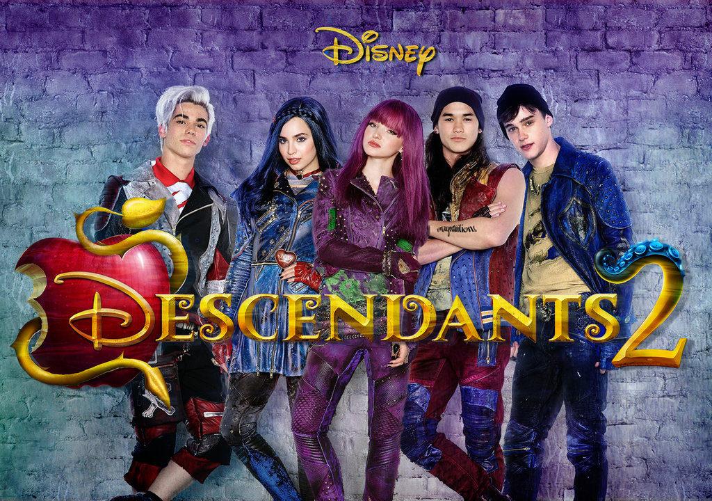 Descendants 2 Now On DVD