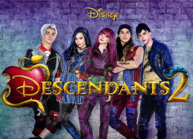 The Villain Kids are Back in Descendants 2 Now On DVD