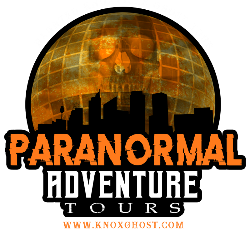 Be A Paranormal Investigator On The Haunted Knoxville Ghosts Tours paranormal adventure tours knoxville tn LOGO 2