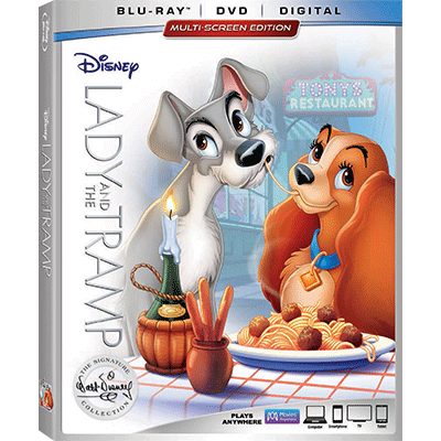 The Classic Lady And The Tramp Joins The Walt Disney Signature Collection 2/27